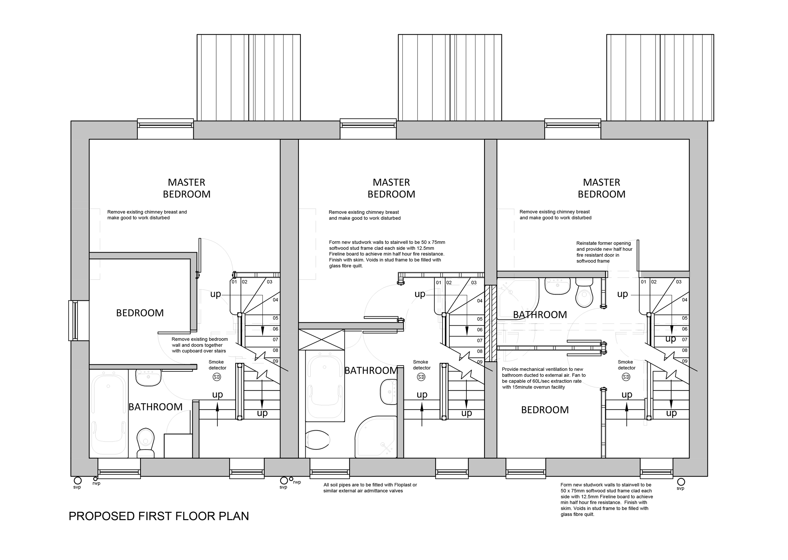 Proposed First Floor Layout
