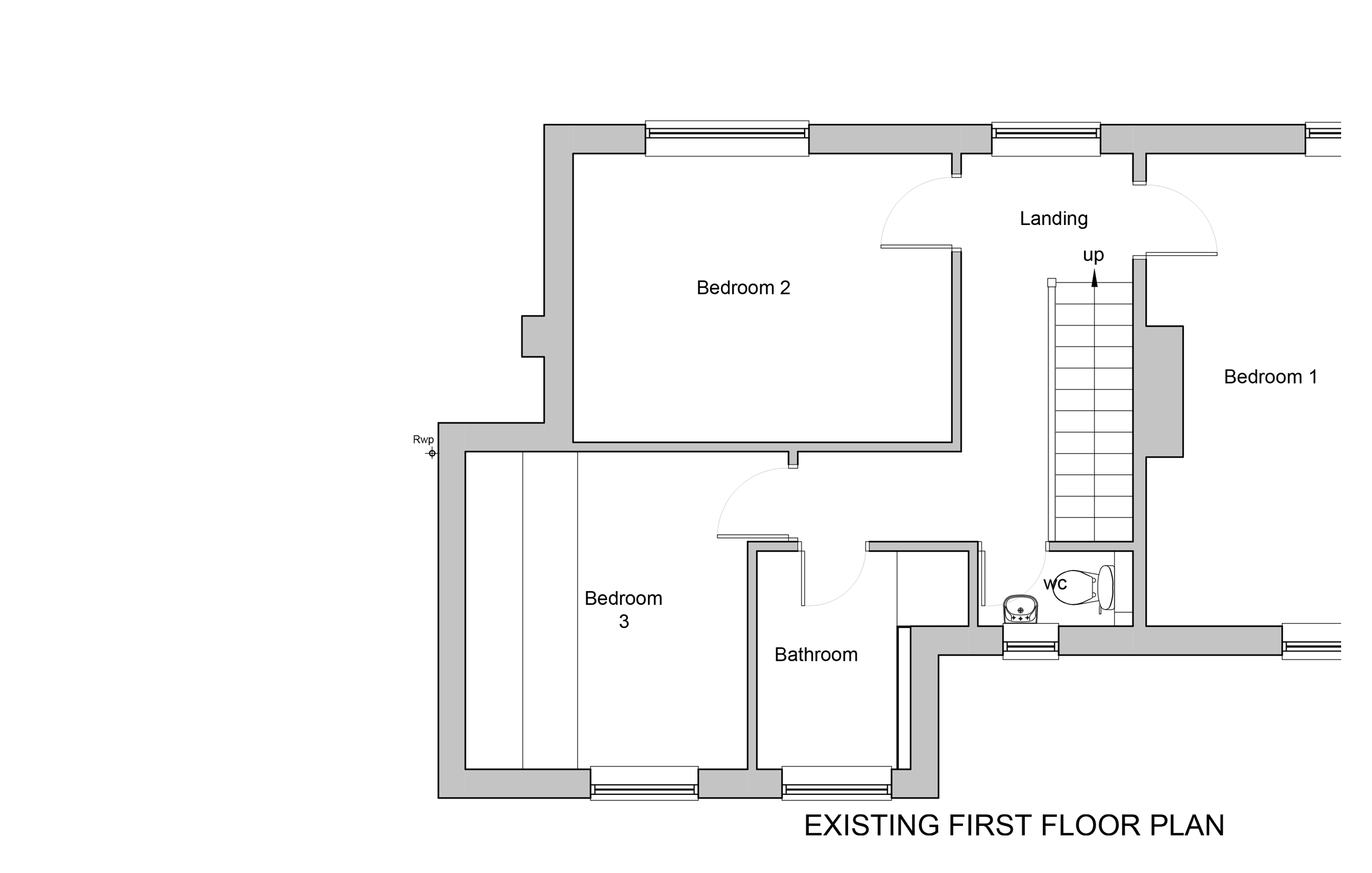 First Floor Existing