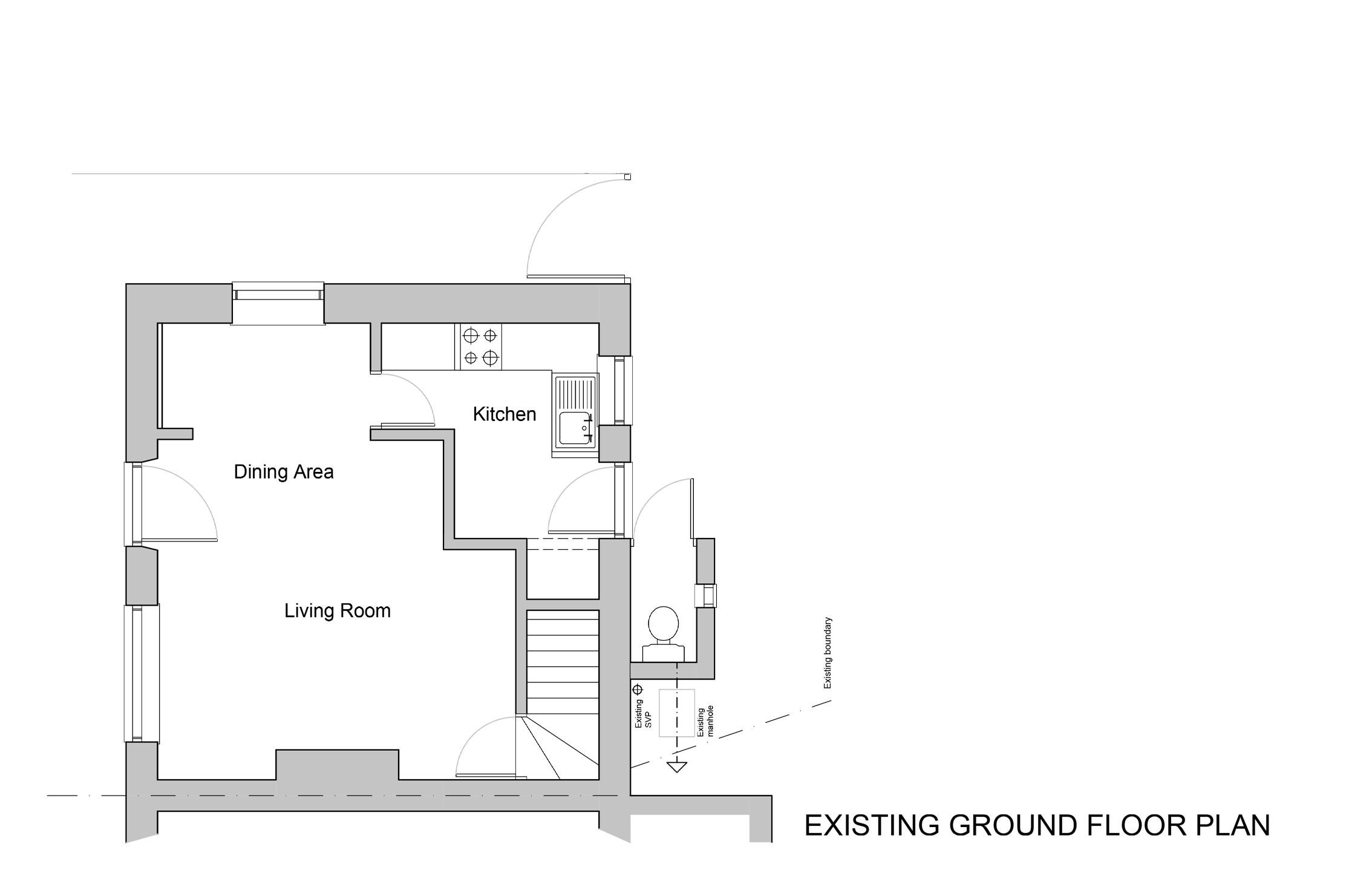 Existing Ground Floor
