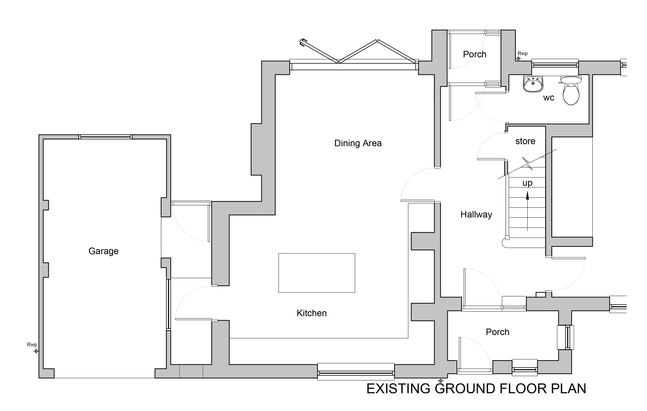 Ground Floor Existing
