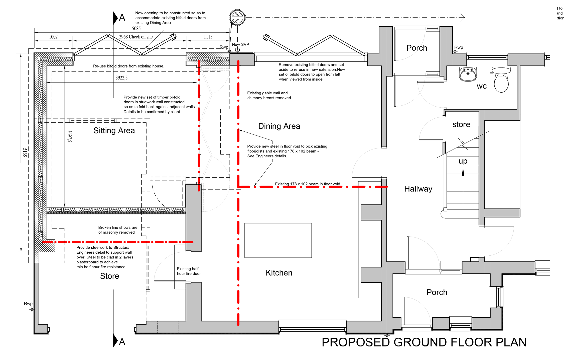 Ground Floor Proposed