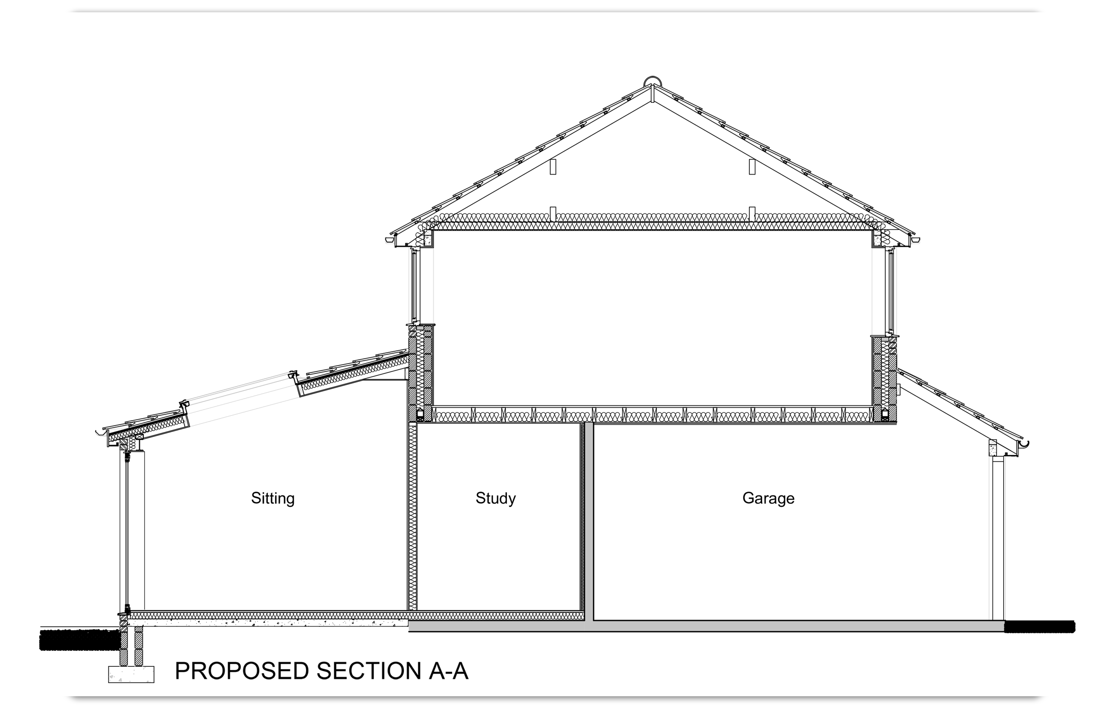 Section A-A Proposed