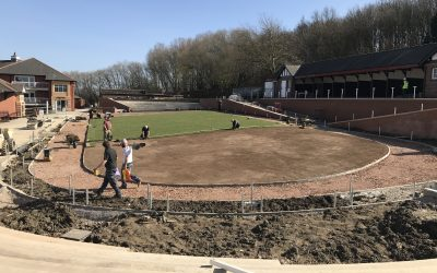 Pontefract parade ring going together well