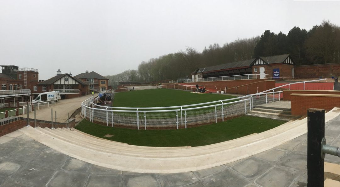 Pontefract race course nearly complete!