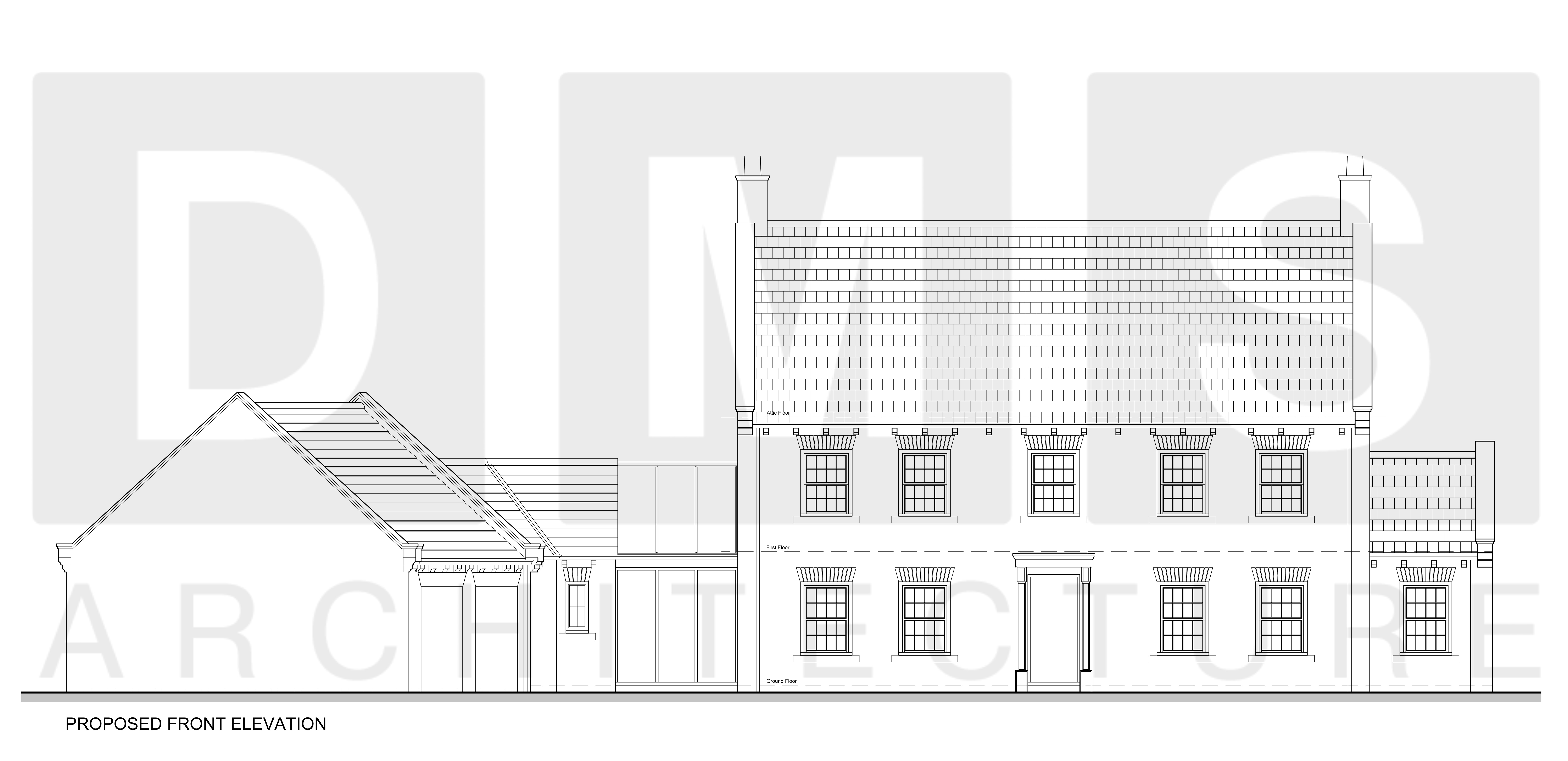 004 - Proposed Elevations ( 1 of 2 )