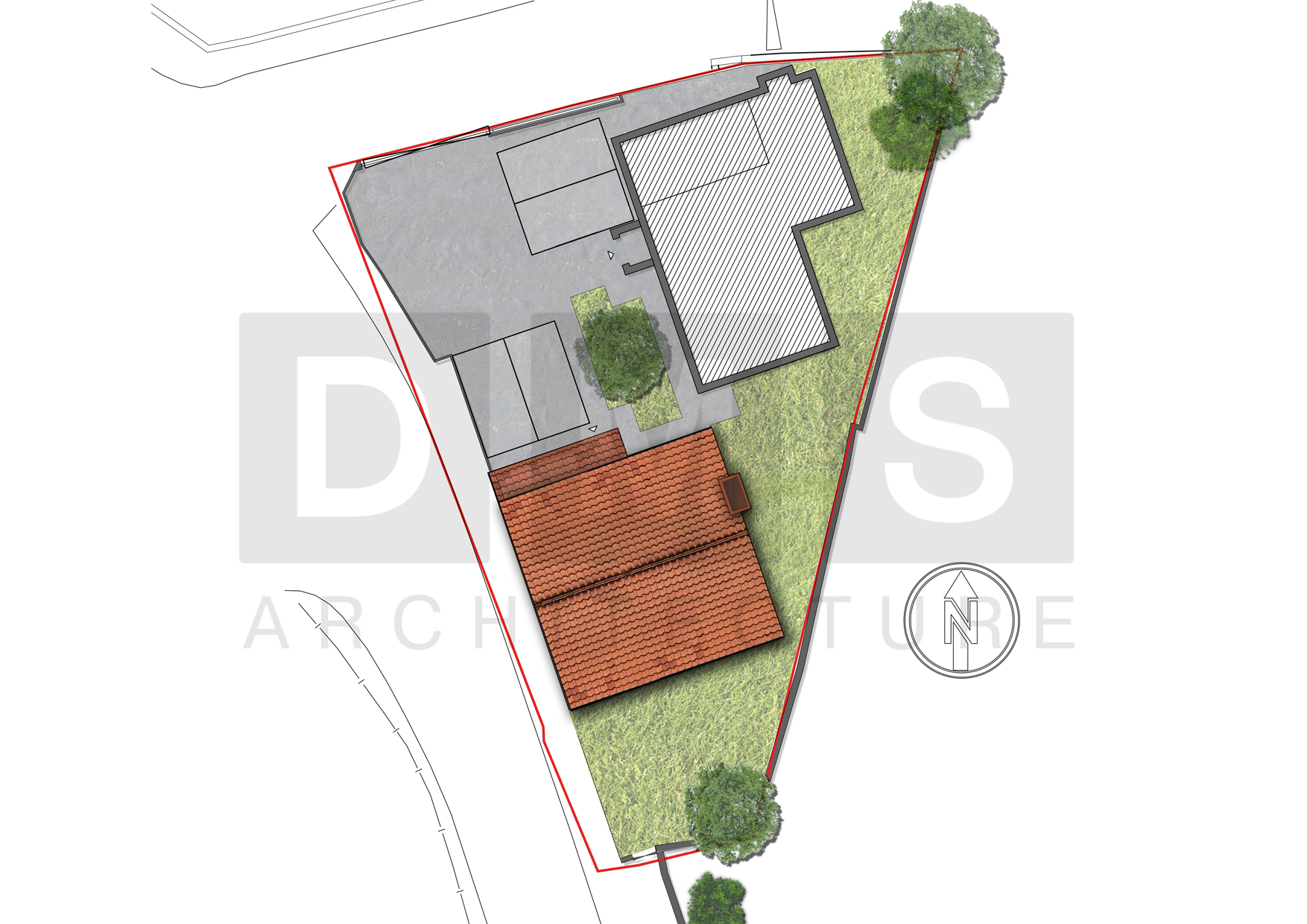 Rendered Site Plan 2